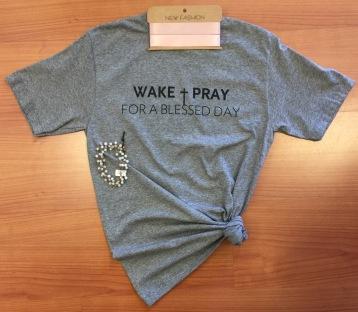 Cool Threads Wake Pray